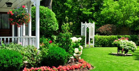 Landscape design services for New Hampshire.
